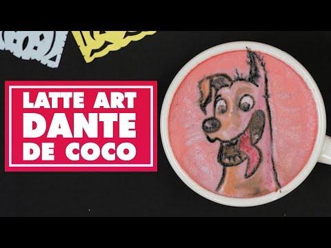 Latte Art: Dante de Coco | Oh My Disney