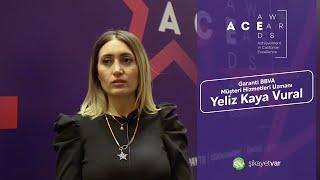 Şikayet Var 5. A.C.E Awards | Garanti BBVA Müşteri Hizmetleri Uzmanı Yeliz Kaya Vural