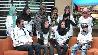 بامداد خوش - ورزشگاه - قهرمانی تیم فوتبال کلپ آریا در مسابقات زیر 15 سال بانوان