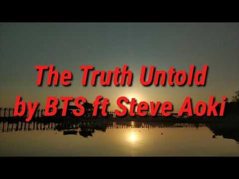 The Truth Untold by BTS ft Steve Aoki - English karaoke version