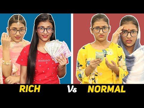 Life : Rich Vs. Normal | SAMREEN ALI