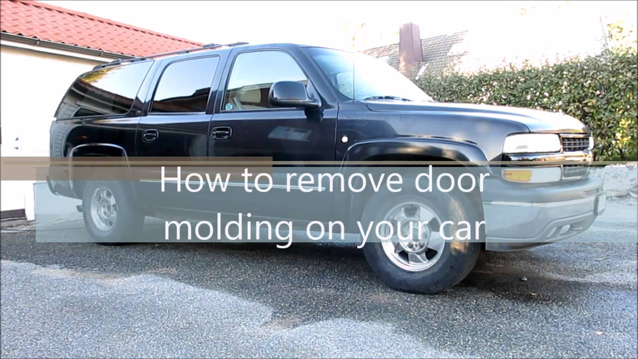 How to remove molding from a truck - How To Remove Door Molding On Your Car