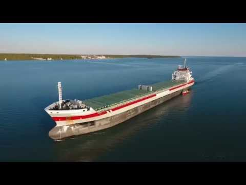 Shipping on the Great Lakes... A Bird's Eye View, 2016