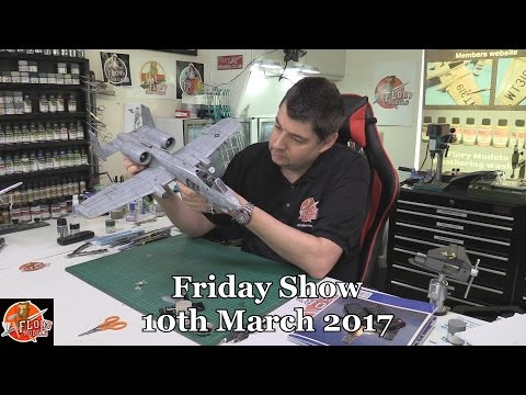 Flory Models Friday Show 10th March 2017