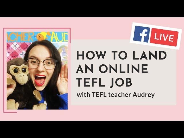 i-to-i WEBINAR   Episode 5: How to Land an Online TEFL Job