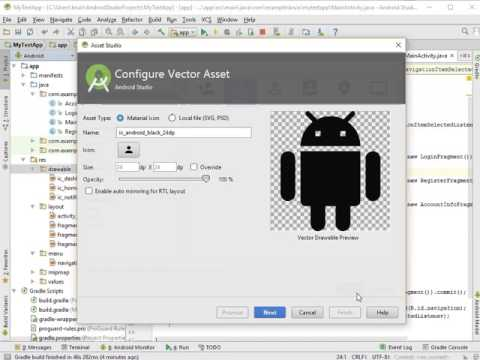 04   Android Studio   App Building   Fragments with Navigation Cleanup and Cosmetics