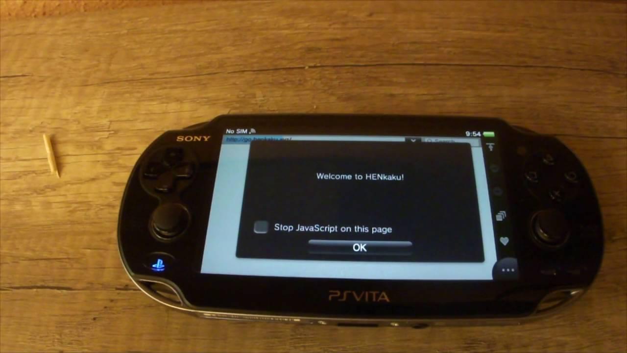 PS Vita 3 61 & 3 63 Jailbreak with hacked custom emulator bubbles
