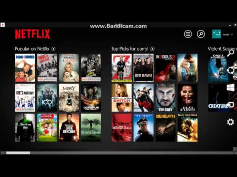 HOW TO LOGOUT OF THE NETFLIX APP ON WINDOWS EIGHT!!!