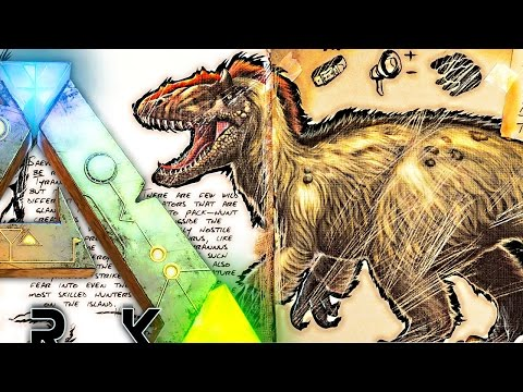 ARK Survival Evolved - YUTYRANNUS VS T REX SIZE, EVERYTHING YOU NEED TO KNOW! NEW DINO - Dossier