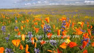 WHISPERS OF MY FATHER - SEEK YE FIRST by Maranatha Singers with Lyrics
