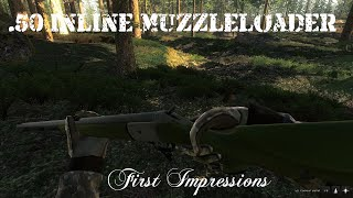 The Hunter - .50 Inline Muzzleloader - First Impressions