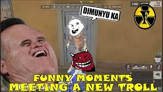 MEETING A NEW TROLL | FUNNY MOMENTS | (Rules of Survival) [TAGALOG]