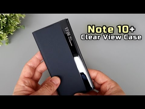 Samsung Galaxy Note 10 Plus Clear View Cover