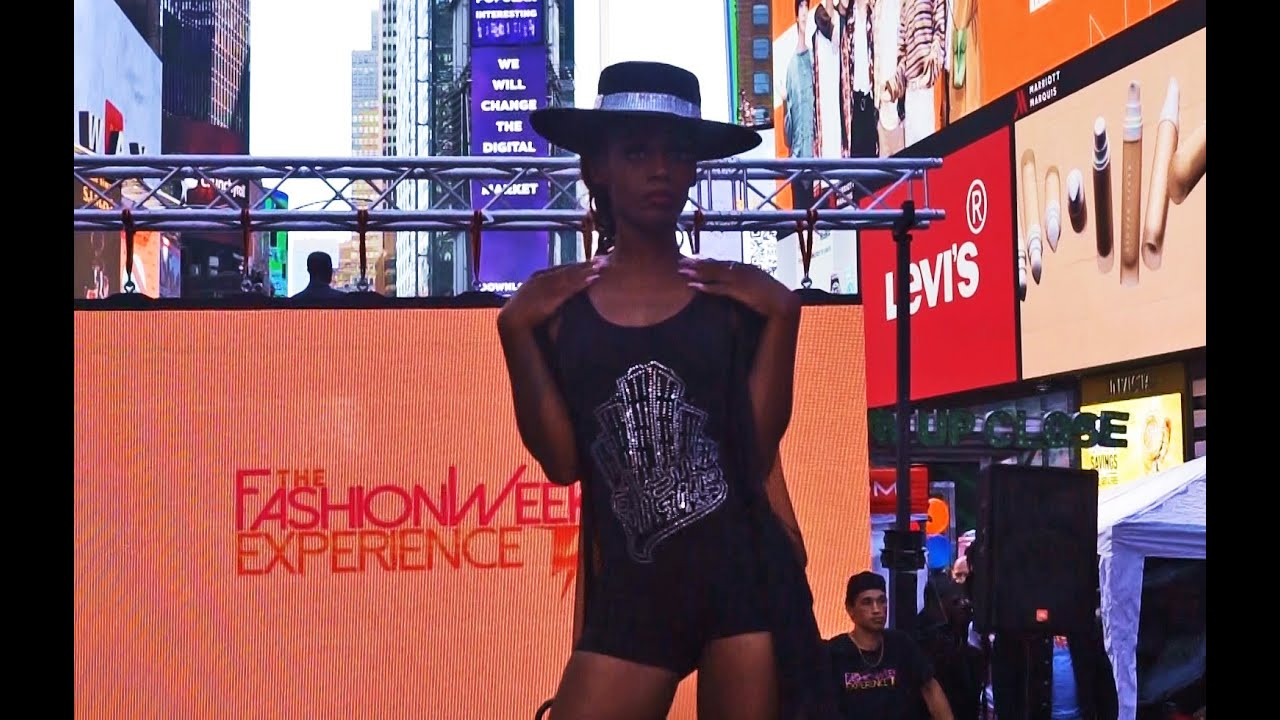 Times Square Fashion Show with Gettos Gear