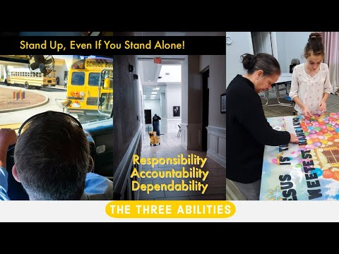 The Three Abilities: Responsibility, Accountability, Dependability | Pastor Tony Spell