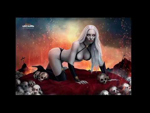 "Savana Hume Photoshop Process ""Lady Death"""
