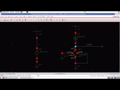 Design of Bandgap voltage reference (BGR) - 3 : CTAT simulation  in Cadence
