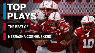 The Best of the Nebraska Cornhuskers: 2018 Mid-Season Highlights Big Ten Football