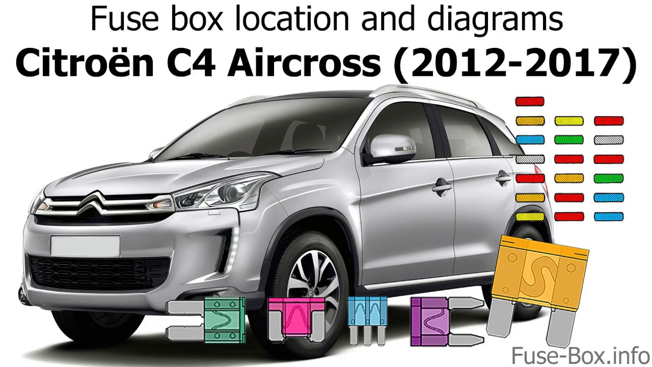 fuse box location and diagrams citroen c4 picasso i 2006 2012fuse box location and diagrams [ 1280 x 720 Pixel ]