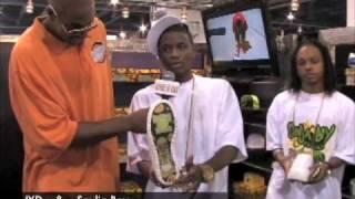 Soulja Boy Yums Shoes Magic Show
