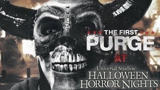 The First Purge Maze is Coming to HHN 2018!