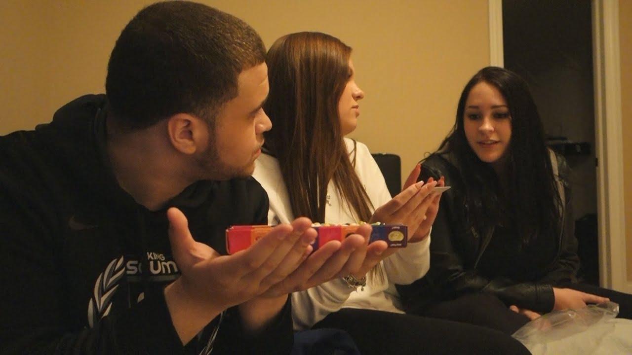 1 GUY 2 GIRLS 1 GAME - YouTube
