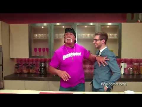 FOX 5 Inside The Loft: Hulk Hogan in the kitchen