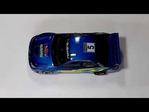 109-Subaru Impreza 2006 de Ninco con material de competicion