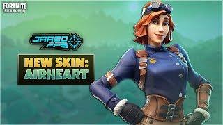 """New """"Airheart"""" Skin - Fortnite Battle Royale - JaredFPS"""