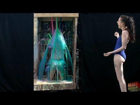 Messyworld Trailer: Crystal cools off in Gunge in her summer bikini