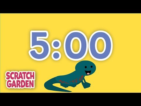 The Five-Minute Break Song  5 Minute Timer  Scratch Garden