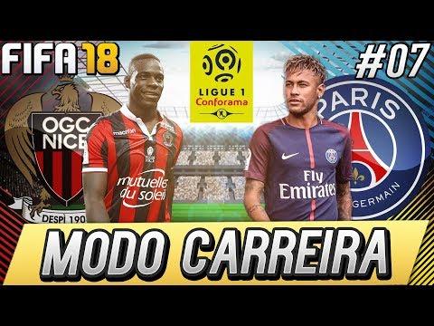 FIFA 18 MODO CARREIRA - CHEGOU A HORA DO PSG! #07