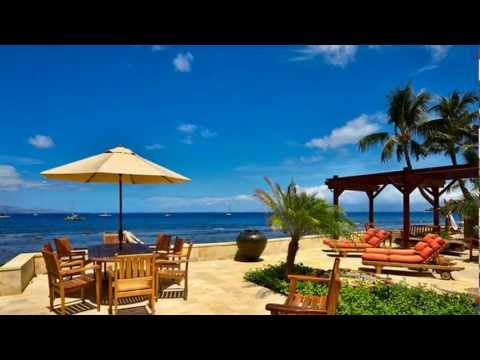 Lahaina oceanfront house luxury vacation rental Maui