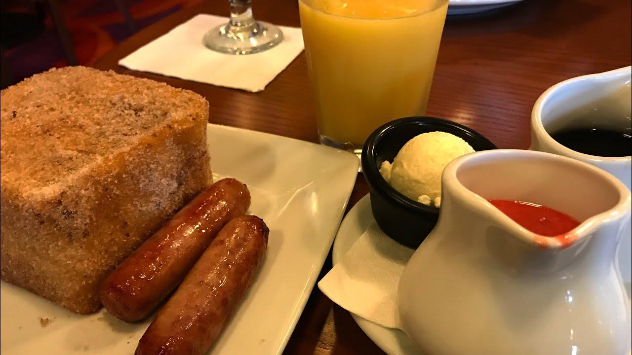 DINING REVIEW: Kona Cafe Breakfast at Disney's Polynesian Resort | VLOGMAS Day 4