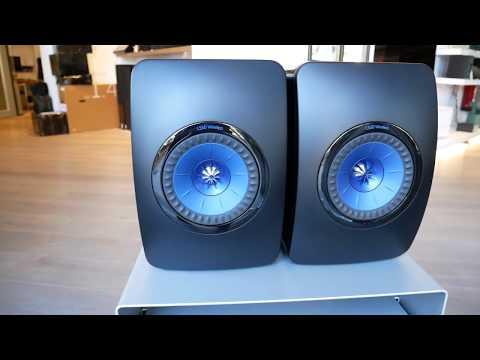 KEF LS50 Wireless - Altavoces Premio EISA / WHAT HIFI