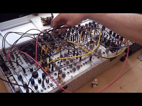 Live Jam #115 - Drone / Buildup / Electronic - Eurorack, Erica Synths Black wavetable vco solo
