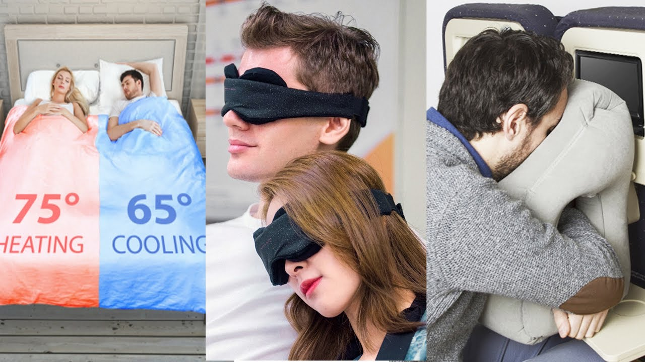 5 Amazing Sleeping Accessories you will need soon - Smart Pillow, Sleeping Mask, Silent Partner ..