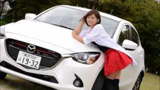 ドライブ美人 マツダ デミオ 編 女医 安枝瞳の新型車診察しちゃうぞ! 安枝瞳 検索動画 22