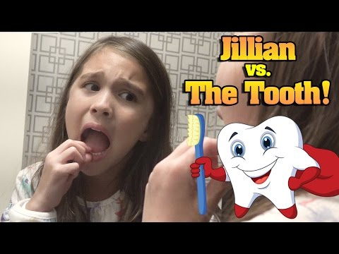 JILLIAN vs. THE TOOTH! Hotel Bathroom Battle!!!