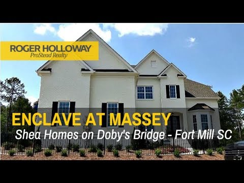 Massey Fort Mill Sc Shea Homes For Sale The Enclave Youtube