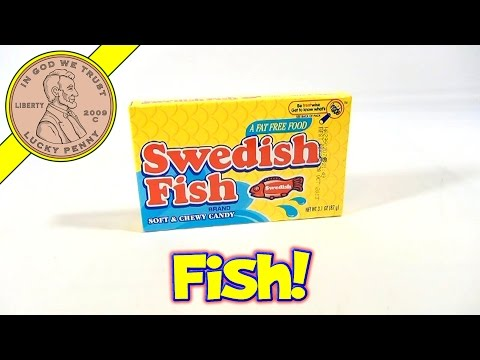 Swedish Fish Soft And Chewy Candy, By Cadbury Adams