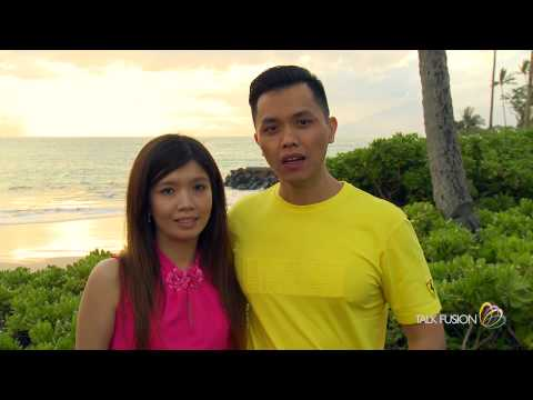 Mario Halim & Ryani Irawan at Talk Fusion Dream Getaway
