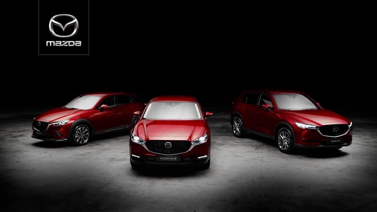 Gestaltet mit Leidenschaft: Die Mazda CX-Modelle