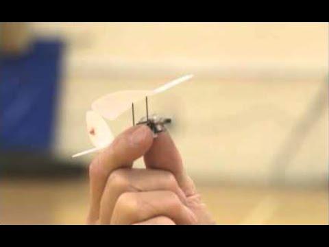 World's Smallest Radio Controlled Model Plane