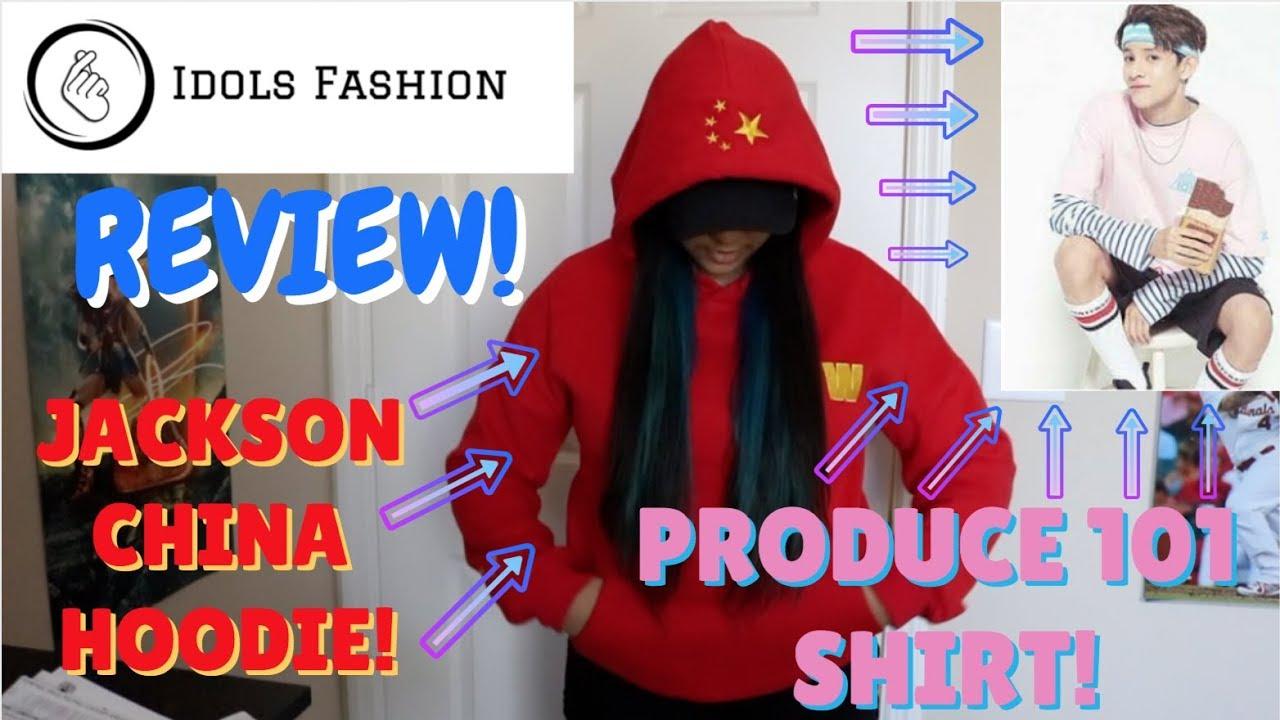e408d4c4a Idols Fashion Review! [Produce 101 S2 shirt & Jackson Papillon ...