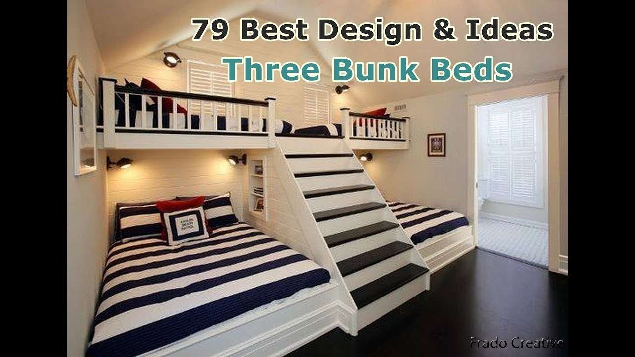 Design And Ideas Triple Bunk Bed Youtube