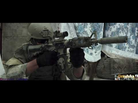 Снайпер Мустафа Подстреливает Морского Котика ... отрывок из фильма (Снайпер/American Sniper)2014