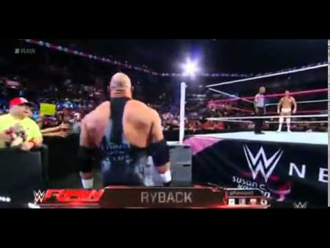 Ryback Returns to WWE Raw - 10/27/2014 HQ from YouTube · Duration:  1 minutes 22 seconds