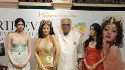 Emotional moment for Sridevi's family at Singapore Madame Tussauds wax statue unveiling