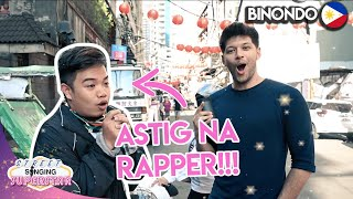 ASKING RANDOM PEOPLE TO SING IN BINONDO, MANILA!